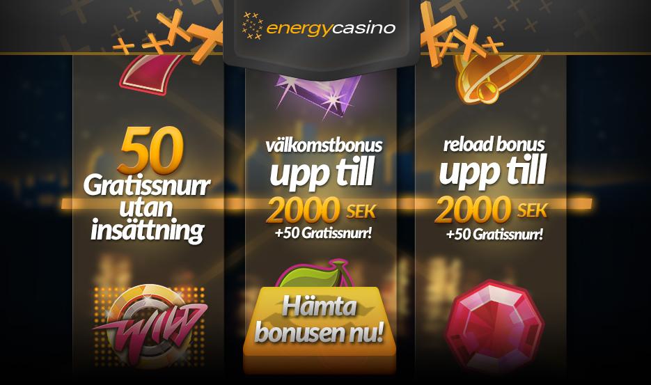 50 freespins energycasino